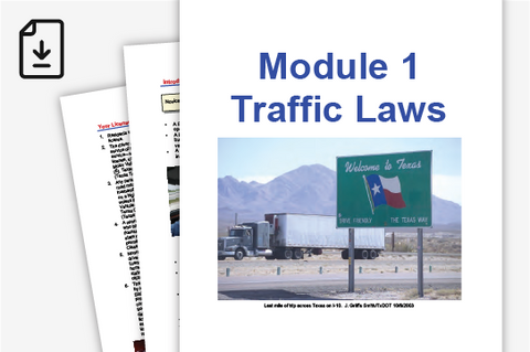 Parent Taught Driver Education Course 101: Modules 1-13 (Downloadable PDF)