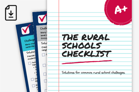The Rural Schools Checklist (Downloadable PDF)
