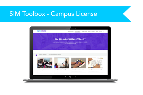 SIM Implementation Toolbox - Campus License (website subscription)