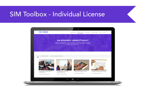 SIM™ Implementation Toolbox - Individual License (website subscription)