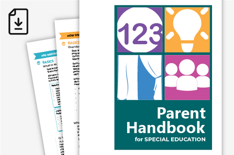 SPED Parent Handbook 2019 (Downloadable PDF)