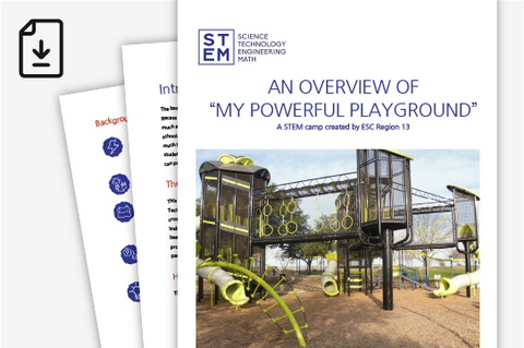 Elementary STEM Camp - Powerful Playground (Downloadable PDFs)