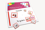 Early Childhood Circle Time Flip Charts - Spanish (Set of Posters)