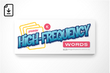 Spanish High-Frequency Words: Kindergarten (Downloadable PDF)