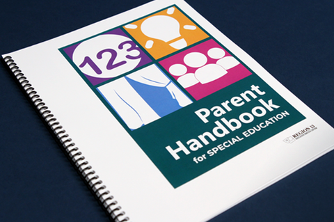 SPED Parent Handbook 2019 (Spiral-Bound)