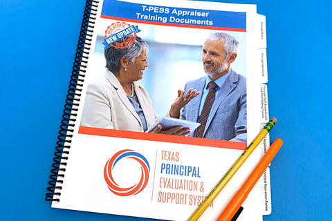 T-PESS Appraiser Training Documents - 2020 Updated Rubric (Spiral-Bound)