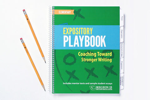 Expository Playbook for Elementary: Coaching Toward Stronger Writing (spiral-bound)