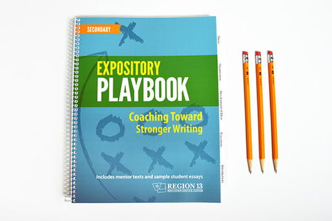 Expository Playbook for Secondary: Coaching Toward Stronger Writing (Spiral-Bound)