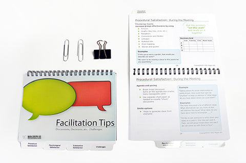 Facilitation Tips: Discussions, Decisions, and Challenges (spiral-bound)