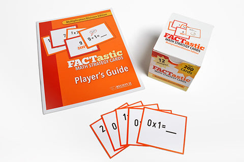 FACTastic Math Strategy System: Multiplication/Division (set of cards and spiral-bound teacher's guide)