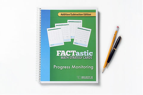 FACTastic Math Progress Monitoring: Addition/Subtraction (spiral-bound)