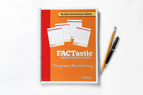 FACTastic Math Progress Monitoring: Multiplication/Division (Spiral-Bound)