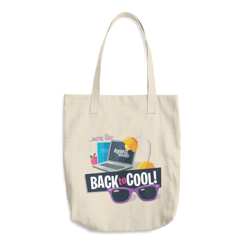 Back to Cool Tote Bag