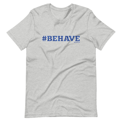 Behave Paisley T-Shirt (Unisex) Athletic Heather