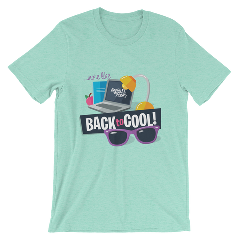 Back to Cool T-shirt (Unisex) More Colors Available!