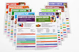 2017 Prekindergarten Alignment Posters: English (Set of 10)