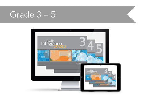 Skills Integration: Grade 3-5 Bundle (downloadable PDFs)