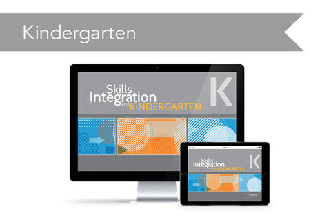 Skills Integration: Kindergarten (downloadable PDF)