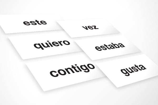 Spanish High-Frequency Words: First Grade (Downloadable