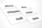 Spanish High-Frequency Words: K-2 Bundle (Downloadable PDFs)