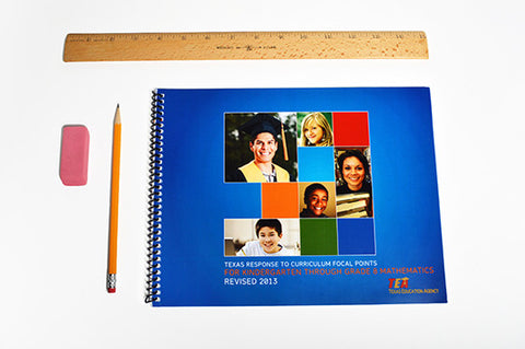 Texas Response to Curriculum Focal Points, K-8 (spiral-bound)