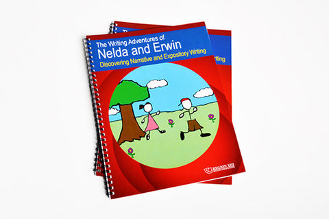 Writing Adventures of Nelda and Erwin (spiral-bound)