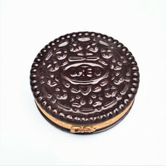 Oreo Cookie with 'Surprise' Cookie Limoges Trinket Box by Artoria - Ltd. #830