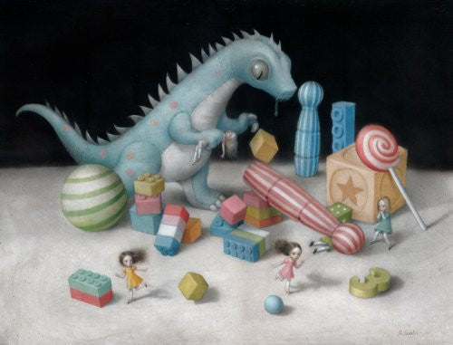 Artifact Puzzles - Nicoletta Ceccoli It's My Party Wooden Jigsaw Puzzle