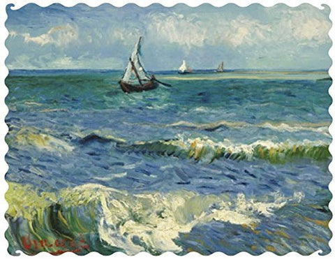 Artifact Puzzles - Van Gogh Sea at Saintes-Maries Wooden Jigsaw Puzzle