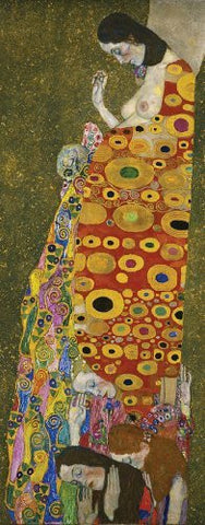 Artifact Puzzles - Klimt Hope Wooden Jigsaw Puzzle