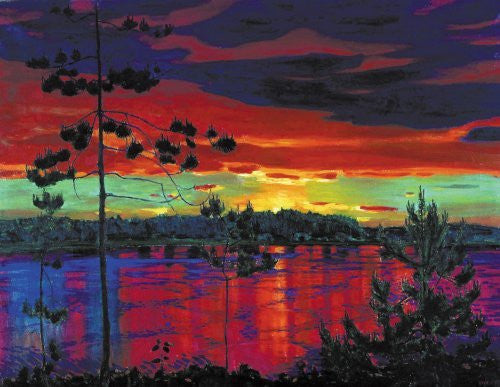 Rylov Sunset Wooden Jigsaw Puzzle