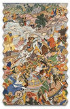 Artifact Puzzles - Krishna Fighting Wooden Jigsaw Puzzle