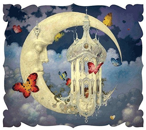 Artifact Puzzles - Daniel Merriam Man in the Moon Limited Edition Wooden Jigs...