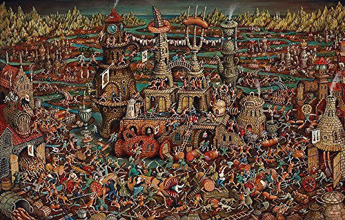 Artifact Puzzles - Tyukanov Uprising of the Sausages Wooden Jigsaw Puzzle
