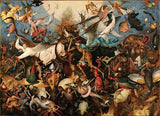 Artifact Puzzles - Bruegel Fall of the Rebel Angels Wooden Jigsaw Puzzle