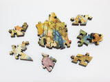 Artifact Puzzles - Fra Angelico and Fra Filippo Lippi Adoration of the Magi Wooden Jigsaw Puzzle
