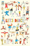 Artifact Puzzles - Allie Sullberg Let's Dance Wooden Jigsaw Puzzle