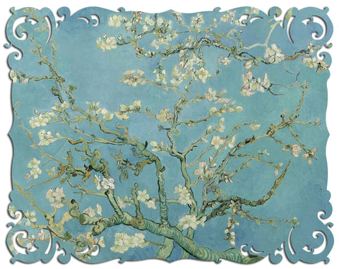 Ecru Puzzles - Van Gogh Almond Blossoms Wooden Jigsaw Puzzle