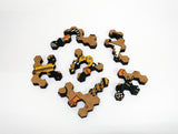 Ecru Puzzles - Awa Tsireh Animal Designs Wooden Jigsaw Puzzle