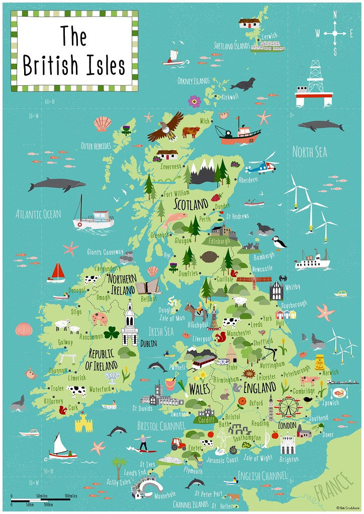 Artifact puzzles bek cruddace british isles map wooden jigsaw puzzle gumiabroncs Image collections