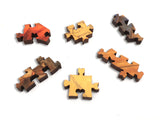 Ecru Puzzles - Scott Gustafson Belling The Cat Wooden Jigsaw Puzzle