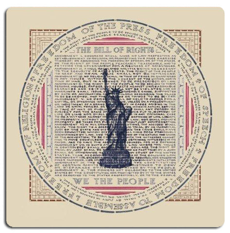 Artifact Puzzles - Susan Loy Bill of Rights Wooden Jigsaw Puzzle
