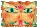 Ecru Puzzles - Paul Klee Cat and Bird Wooden Jigsaw Puzzle