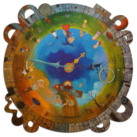 Artifact Puzzles - Tomasz Pietrzyk Circle of Time Wooden Jigsaw Puzzle