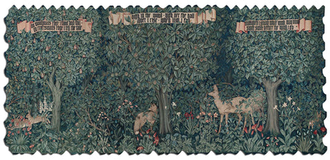 Artifact Puzzles - John Henry Dearle Forest Tapestry Wooden Jigsaw Puzzle