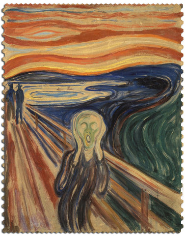 Artifact Puzzles - Munch The Scream Wooden Jigsaw Puzzle