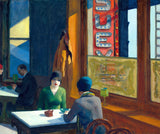 Artifact Puzzles - Edward Hopper Chop Suey Wooden Jigsaw Puzzle
