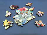 Artifact Puzzles - Hopwood-Wade Emu Afternoon Tea Wooden Jigsaw Puzzle