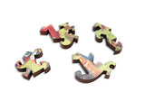Artifact Puzzles - Eric Joyner Great Robot Migration Wooden Jigsaw Puzzle