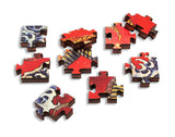 Artifact Puzzles - Hokusai Dragon Wooden Jigsaw Puzzle